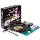 roulette wheel, 5-in-1 game set